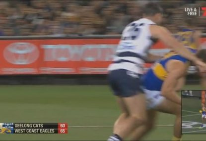 Hawkins set to come under scrutiny after striking Will Schofield off the ball