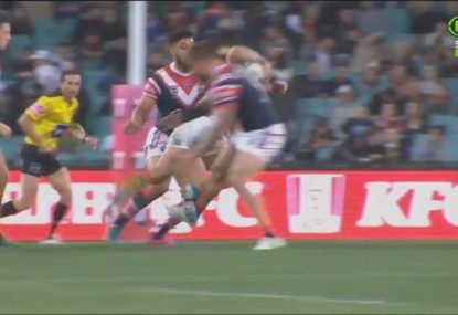 Did the officials miss a trip from Jared Waerea-Hargreaves?