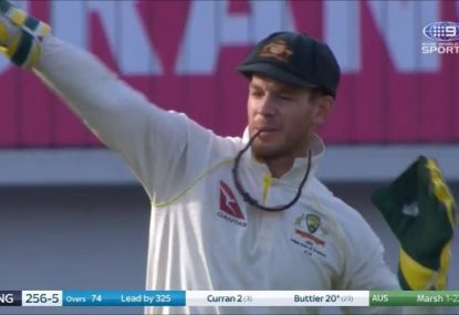 Tim Paine blasted after another DRS howler