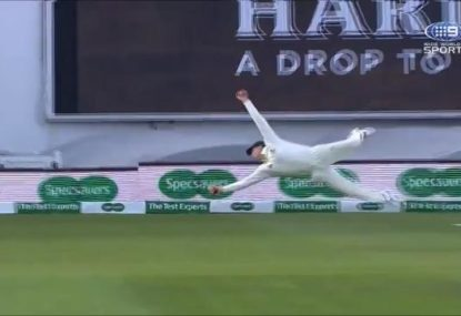 Steve Smith's all-time classic catch caps off extraordinary series