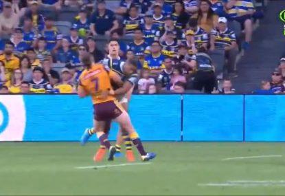 Brutal Michael Jennings hit sends Jake Turpin back to Brisbane
