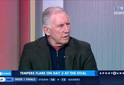 'A load of bollocks': Ian Chappell lays into the Aussies for sledging
