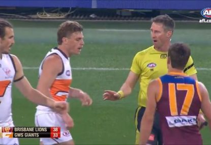 'Pretty good umpiring': Jimmy Bartel praises controversial 'spirit of the game' moment