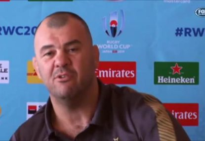 Michael Cheika responds to criticism of Wallabies' 'one-dimensional' attack