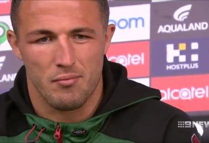 Sam Burgess vows not to change his ways despite hair-pulling suspension