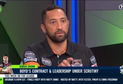 Benji Marshall fires up in heated defence of Darius Boyd
