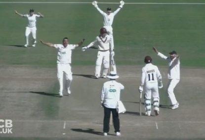 WATCH: Kyle Abbott takes an astonishing 17 wicket haul in County Match