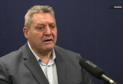 Blocker tees off at 'nanny-state' NRL over handling of Sam Burgess' Kangaroo Court comments