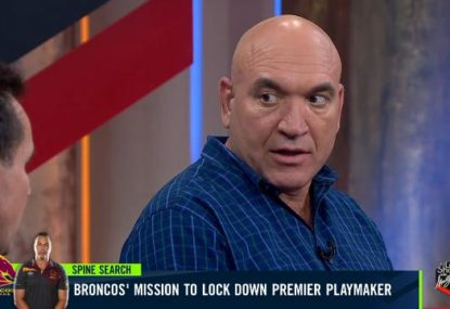 The playmaker Gorden Tallis wants the Broncos to chase