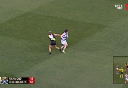 Is Bachar Houli in trouble, or did this young Cat take a dive?