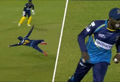 'This guy's got a cape on!': West Indian flies for the catch of the CPL