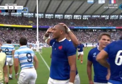 'That's sensational!' France kick off RWC campaign with scintillating try