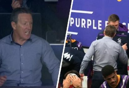 Craig Bellamy's fury over 'miscommunication' with staff before halftime