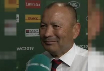 Did Eddie Jones take a dig at Tonga after England's win?