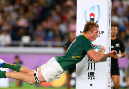 Has South African rugby let the genie out of the bottle?