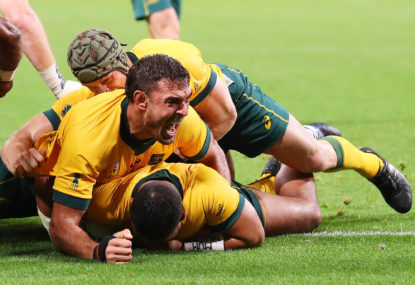 Australia down Fiji to open Rugby World Cup campaign with unconvincing win
