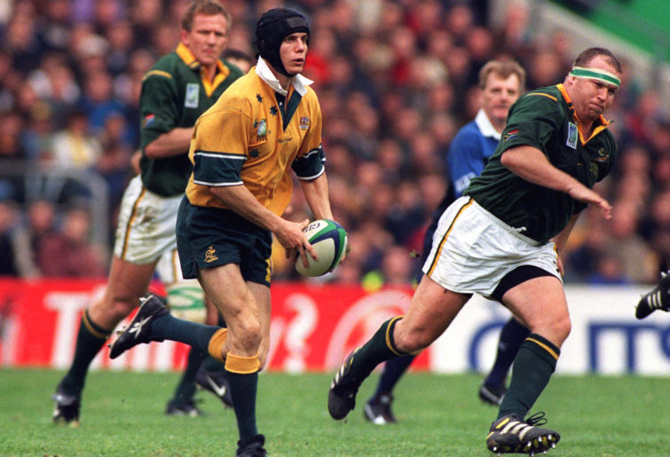 Stephen Larkham against South Africa