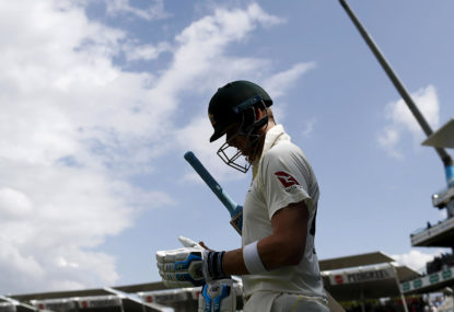 Diagnosing Australia's batting order problem