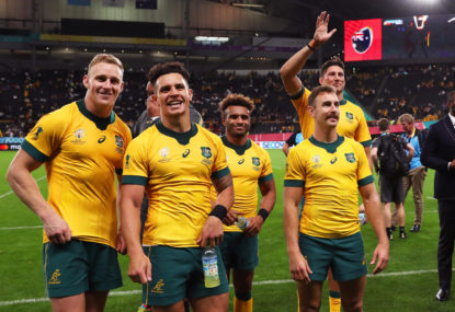 VOTE: Wallabies DIY Rugby World Cup player ratings vs Fiji
