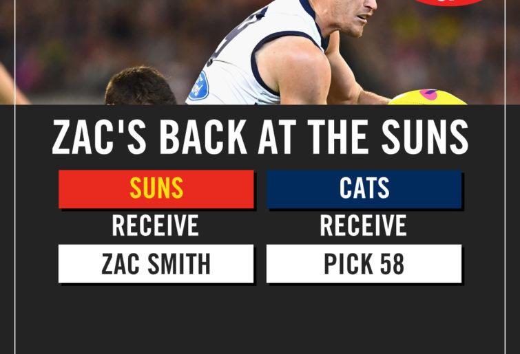 Zac Smith trade details