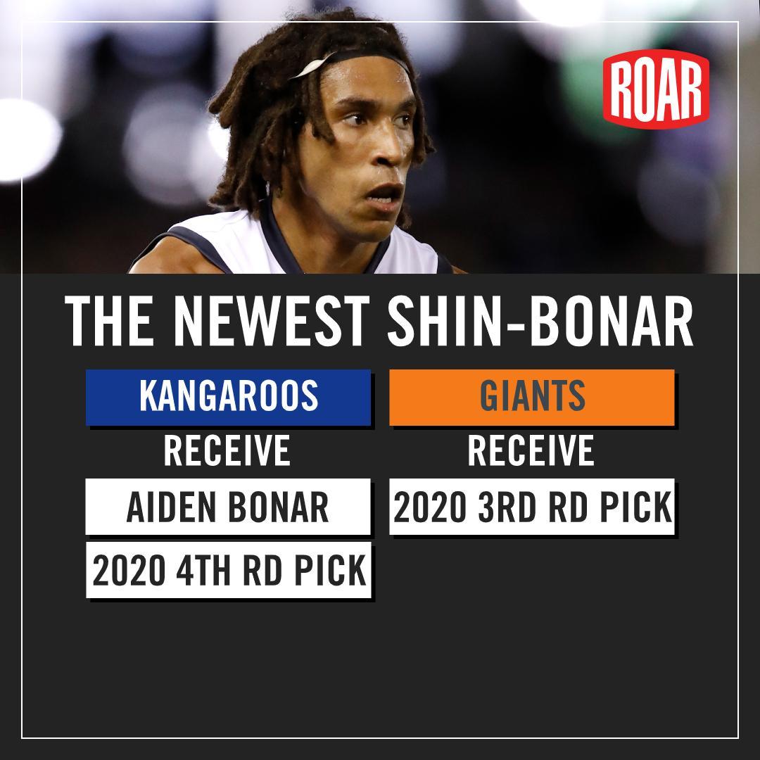 Aidan Bonar trade details