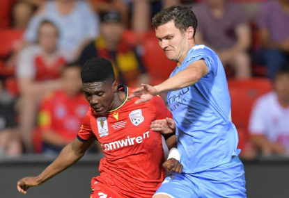 Adelaide spank City in FFA Cup final
