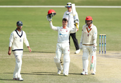 Starc flops and Carey shines in Sheffield Shield