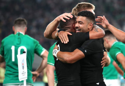 No luck for the Irish: All Blacks into semis with 46-14 win