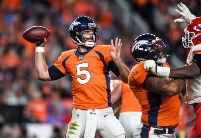 Operation rebuild - not reload - for the Broncos