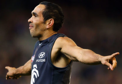The last time Carlton were in the top eight