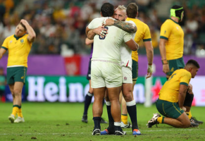 England eliminate Wallabies in World Cup quarter-final