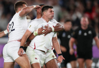 Ton-up Ben Youngs scores twice in England romp