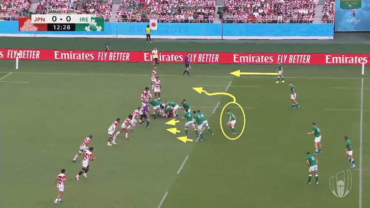 ireland attack vs japan