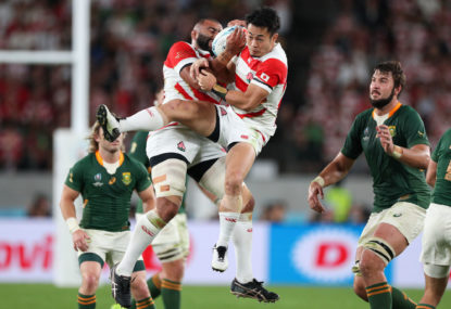 Six talking points from Japan vs Springboks