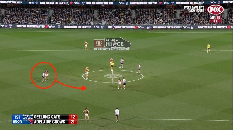 Geelong Tim Kelly clearance