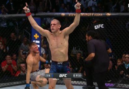 Joe Lauzon's vicious first-round TKO at UFC Boston