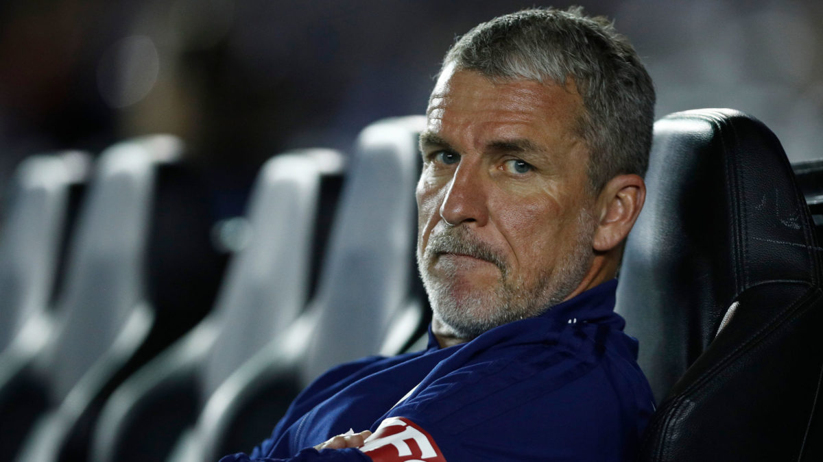Marco Kurz says the Victory lack confidence