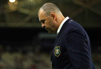 Cheika: I should've quit before the World Cup