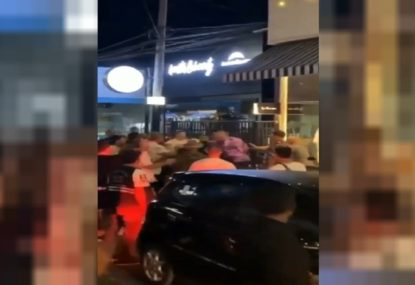 Melbourne Storm star filmed in alleged Bali brawl