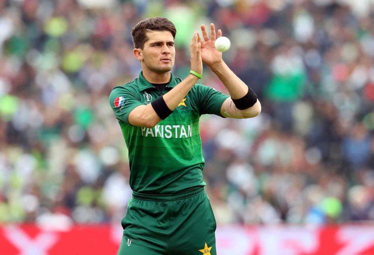 Pakistan's bowler Shaheen Afridi