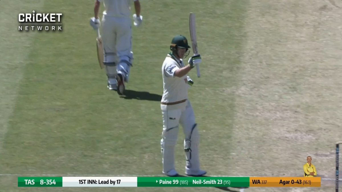 Tim Paine finally breaks 13-year drought with his second FC century