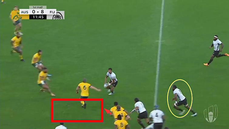 wallabies kick return defence
