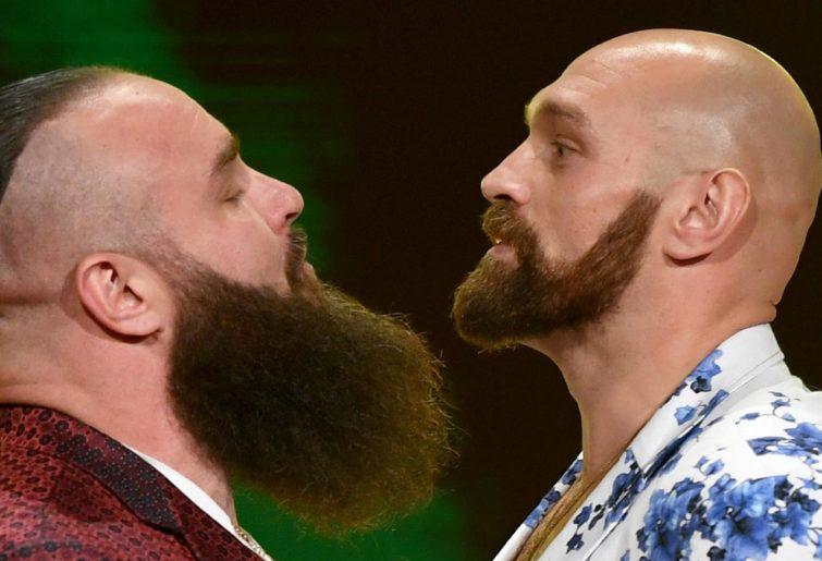 WWE Fury and Strowman
