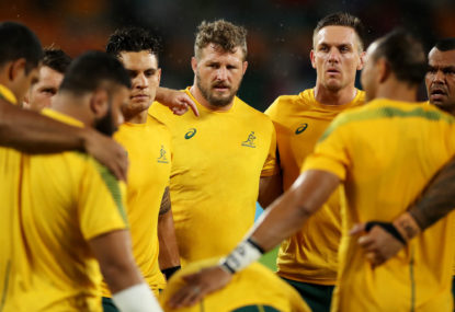 Wallabies reveal Matt Taylor as new defence coach
