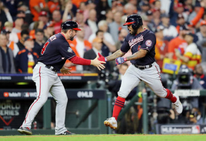Washington Nationals secure maiden title in historic World Series