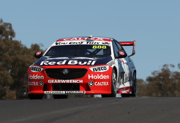 Jamie Whincup drives at Bathurst