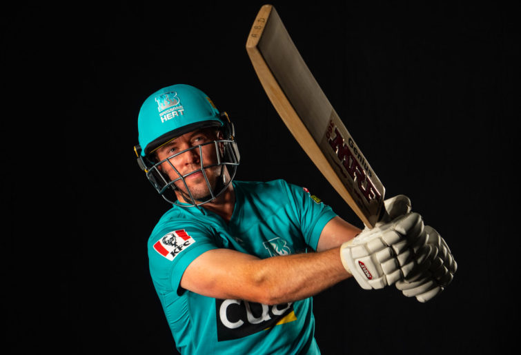 AB de Villiers in Brisbane colours