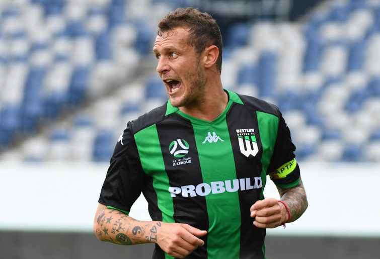 Alessandro Diamanti playing for Western United
