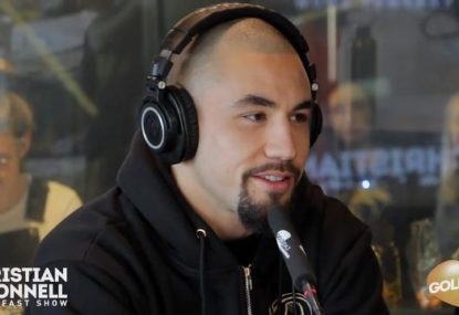 Rob Whittaker's no nonsense approach to his huge UFC bout in Melbourne