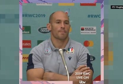 Italy captain Sergio Parisse slams World Rugby after All Blacks match-up cancelled
